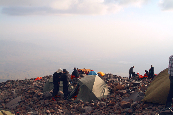 Mount Ararat 2nd Camp